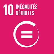 Objectif n°10 de l'Agenda 2030: Réduire les inégalités dans les pays et d'un pays à l'autre